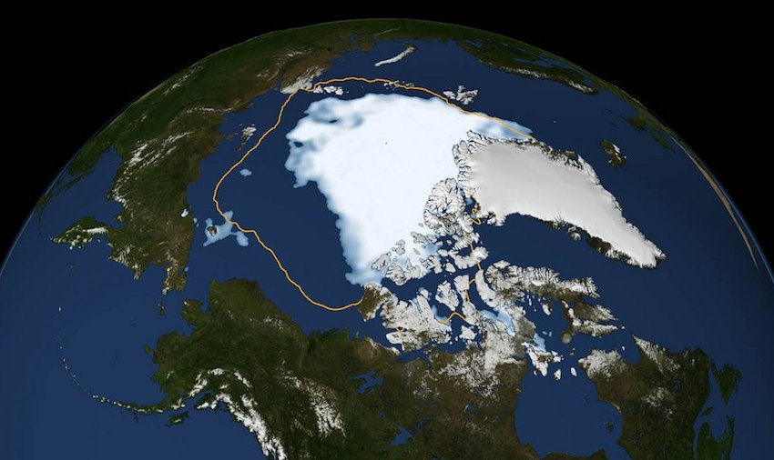 Melting Arctic Sea Ice Causing More Warming Than Expected