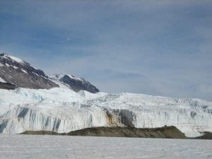 Blood Falls in Antarctica - one of the lesser known effects of climate change