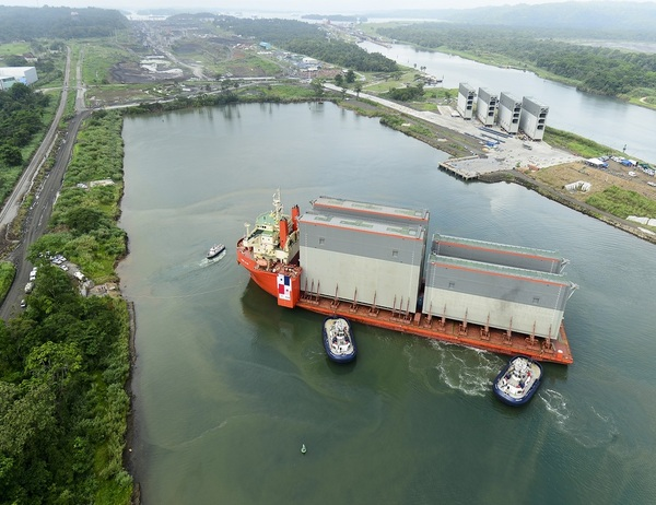 Work on the Panama Canal