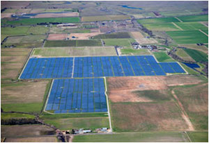 The McKenzie utility scale solar power plant. One of many helping emission reductions across the U.S.