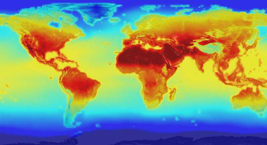 NASA Dataset Projects Climate Change in the 21st Century