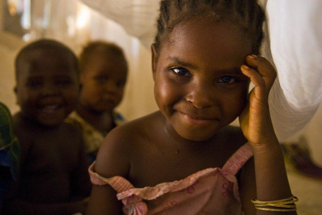 The lives of millions of children in Nigeria are saved through the simple use of bed nets
