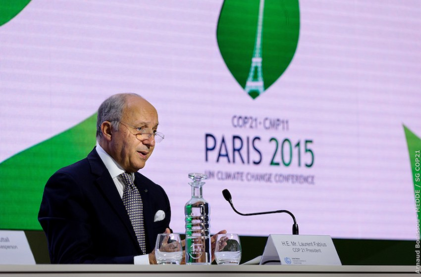 The COP21 Agreement is a Momentous Leap Forward