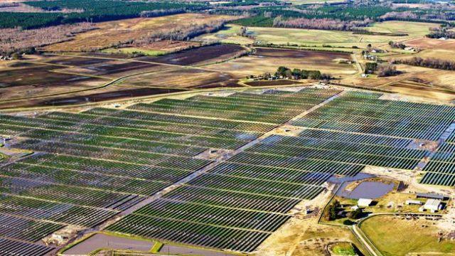 Utility solar: Conetoe Solar Farm