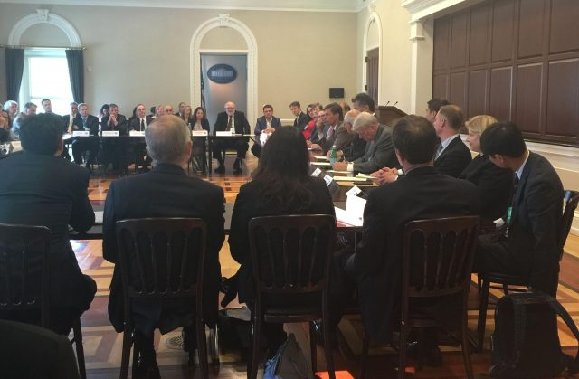Round table discussion on renewable energy storage