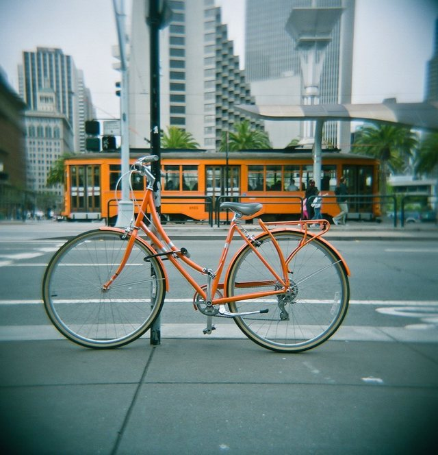 Fight climate change at home: biking and public transit are two good options