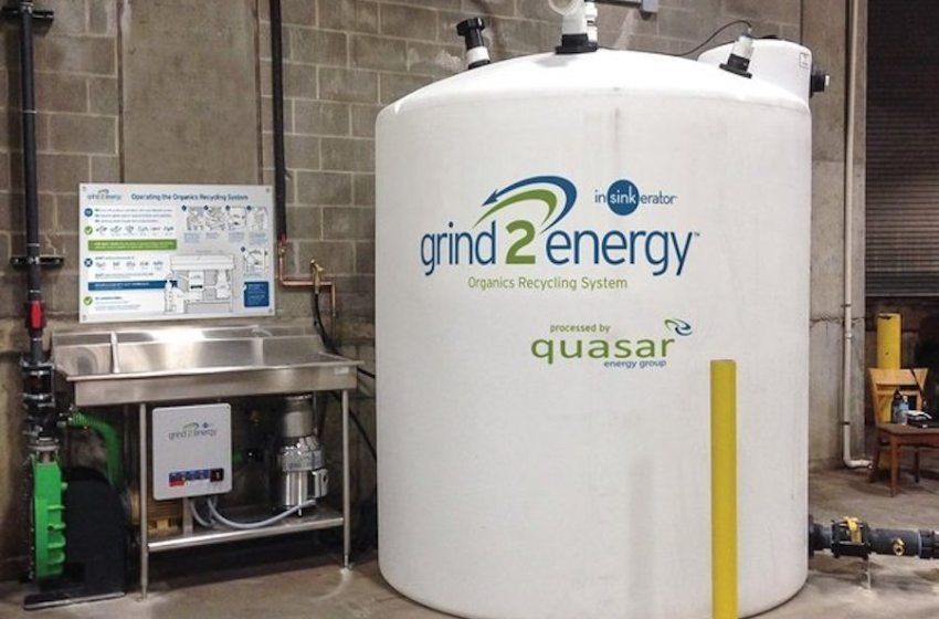 Emerson Adds AT&T IoT Connectivity to Grind2Energy Food Recycling System