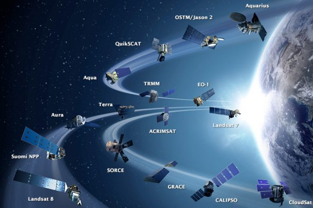 NASA Earth Science made possible by fleet of EOS satellites