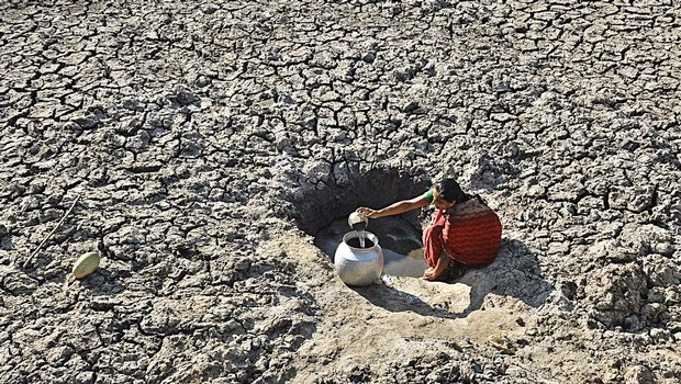 Events in Drought-Stricken India Parallel Recent Experience in California