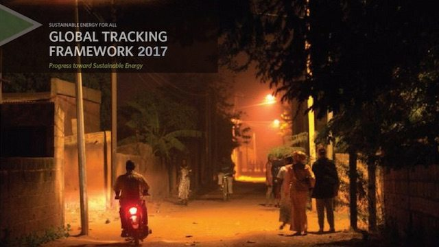 Global Tracking Network 2017 - Progress Toward Sustainable Energy