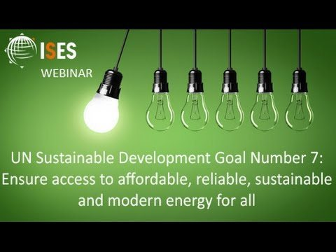 Sustainable energy needs to develop faster to meet SDGs