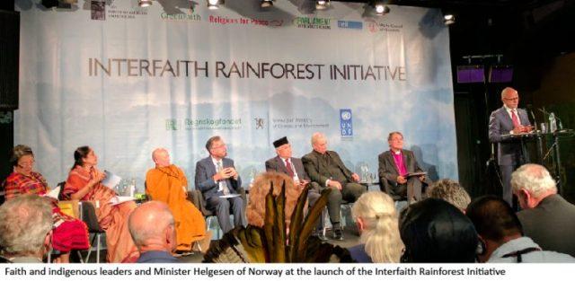 Interfaith Rainforest Initiative gets underway in Oslo
