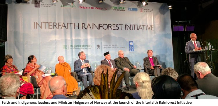 World Religious, Indigenous Leaders Join in Launch of Global Initiative to End Deforestation