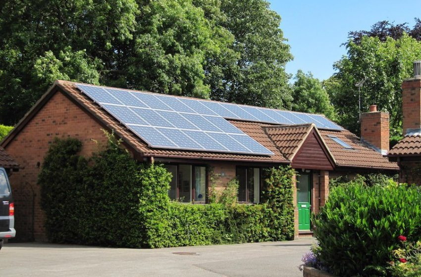 California Is the First State To Require Solar On New Houses