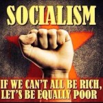 Socialism cost is freedom