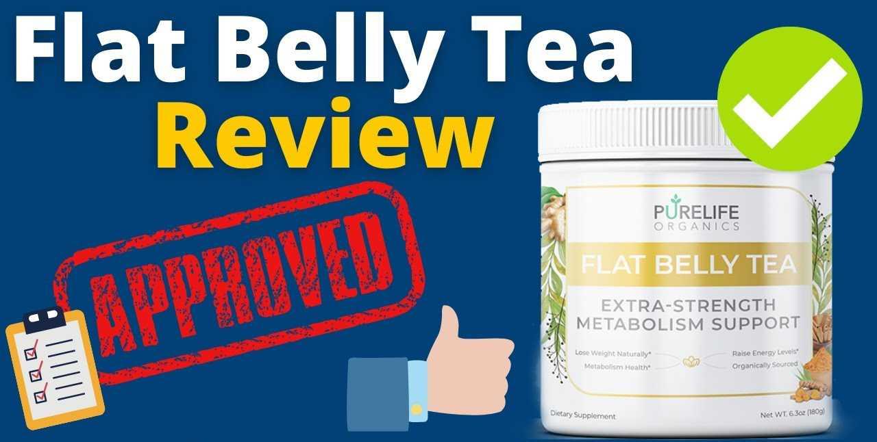 PureLife Organics Flat Belly Tea