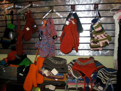 November 2004 – Our toques being sold at Silver Sense across Western Canada.