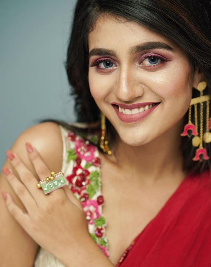 Priya Prakash Varrier Smiling Pic