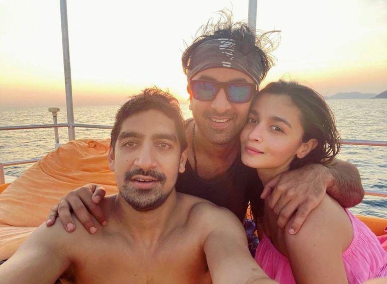 Alia with Her Boyfriend Ranbir Kapoor