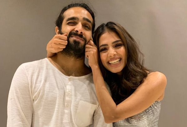 Malavika Mohanan With Her Brother