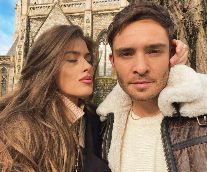 Tamara Francesconi with her Boyfriend Ed Westwick
