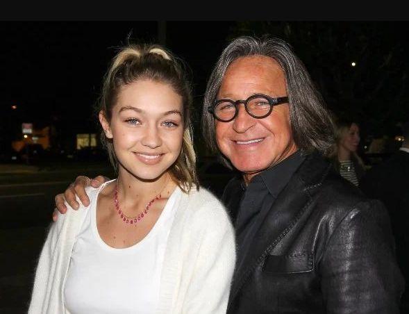 Gigi Hadid With Her Father