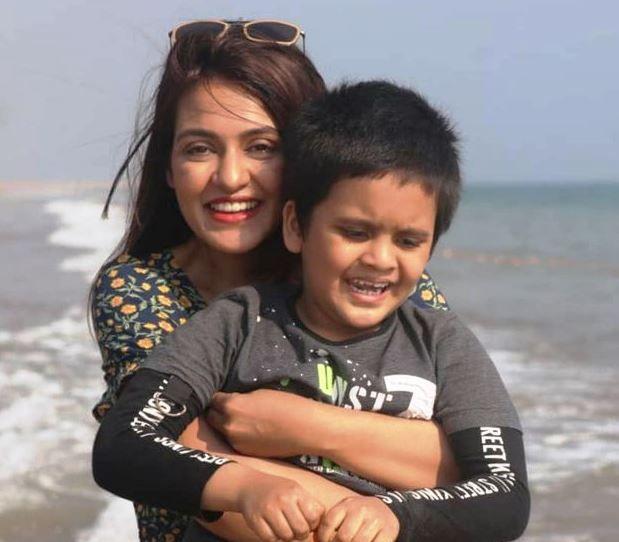 Priyanka Sarkar's Son