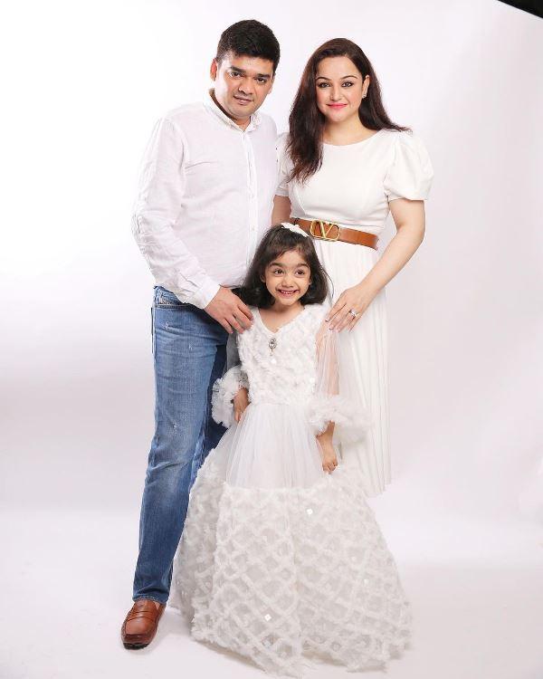 Muskaan Mihani's Family