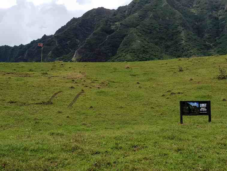 Hurley's one hole golf course as featured in television series Lost, Kualoa Ranch Oahi