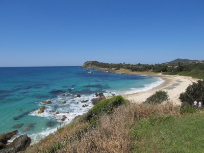 Pebbly Beach, Forster