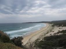 A beach at Seal Rocks