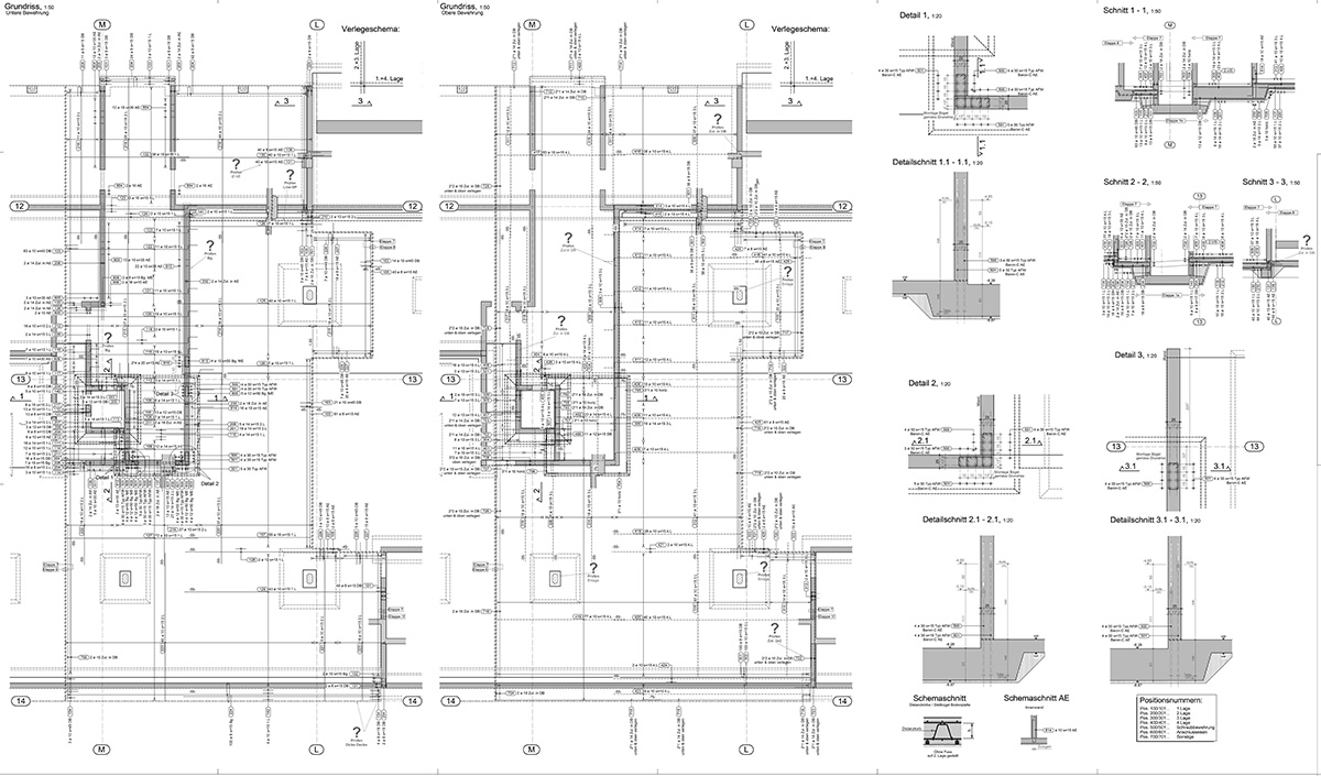 Structural shop drawings