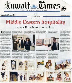 Kuweit Times (KOWEÏT) Mars 2012
