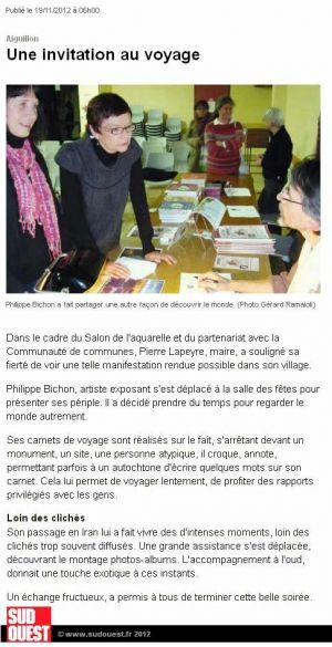 Sud Ouest Aiguillon (47) Novembre 2012