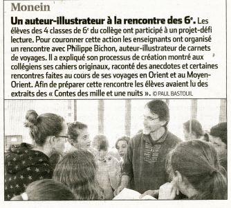 La République des Pyrénées Monein (64) Mars 2013