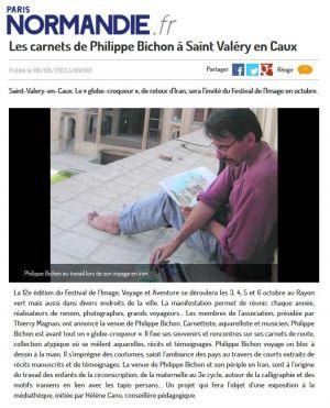 Paris Normandie Saint-Valéry-en-Caux (76) Août 2013