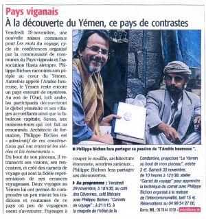 Midi Libre Le Vigan (30) Novembre 2011