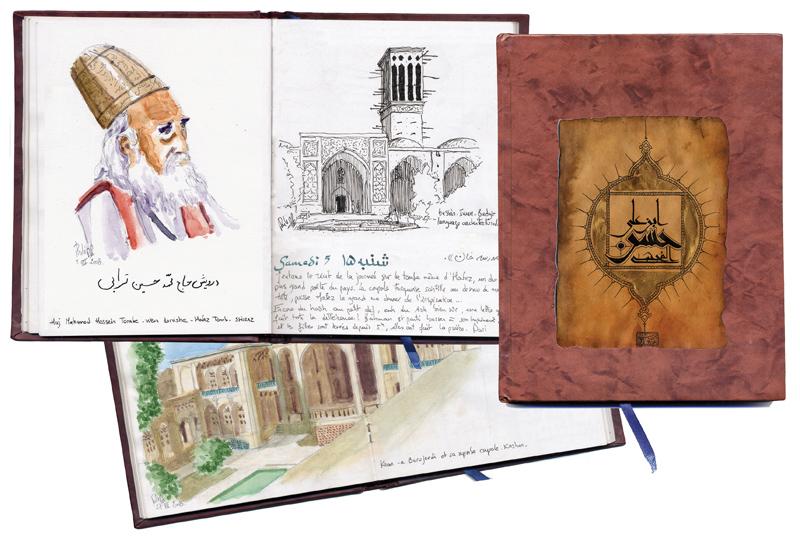 carnet iran original