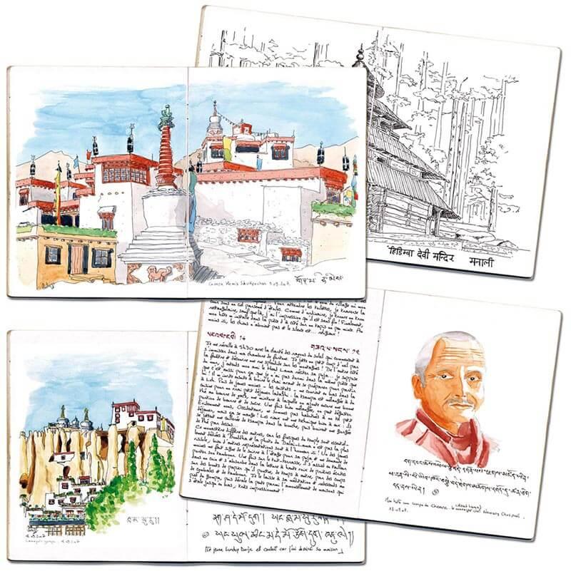 Carnet de route Inde Ladakh 4 pages