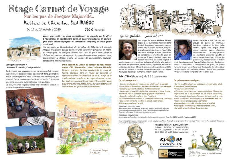 Stage Maroc Ounila 2 Automne 2020