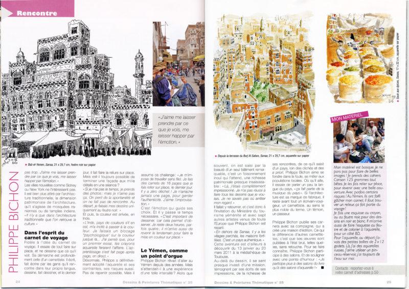 magazine dessins & peintures 2
