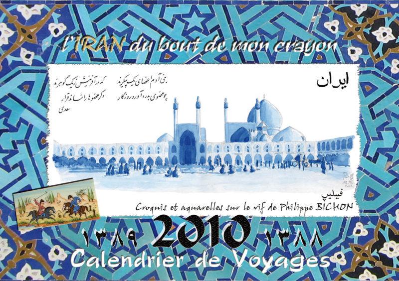 calendrier 2010 Iran