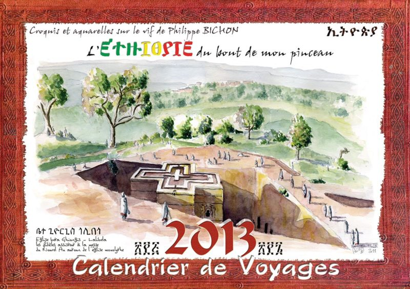 calendrier 2013 Ethiopie