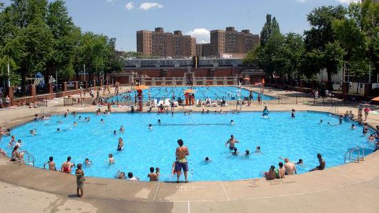 Piscinas gratis y al aire libre en Nueva York