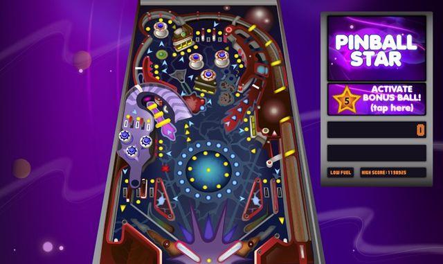Pinball Star juego de Pinball gratis para Windows 81 y