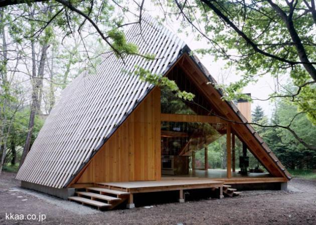Cabaña Moderna De Madera Diseño Innovador