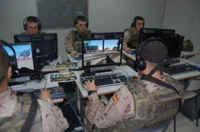 Simuladores de combate adiestramiento virtual