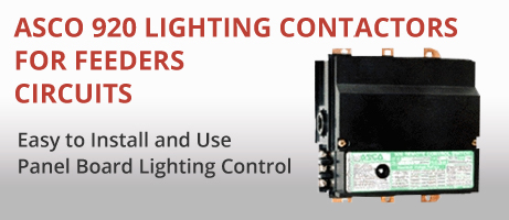 Ac Contactor Wiring Asco 920 Lighting Contactors For Feeders Circuits
