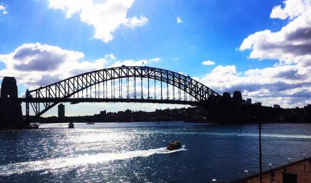 Trouver du travail en Australie dans la construction. Sydney Harbour Bridge