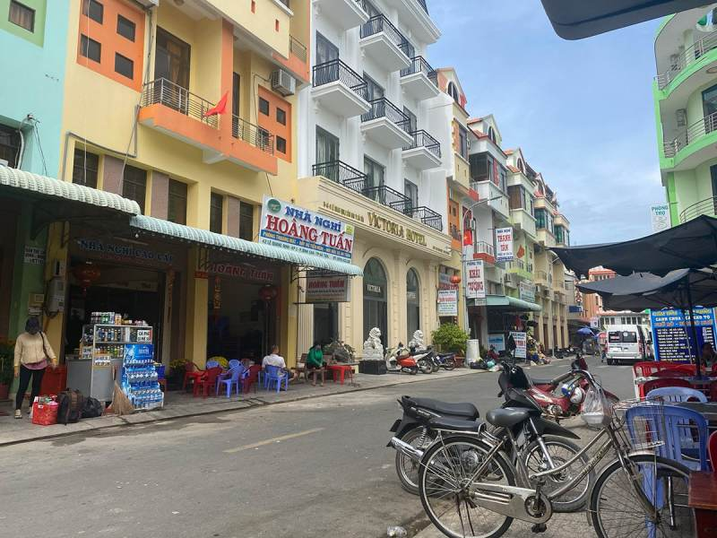 Ha Tien ville à la frontière Vietnam Cambodge